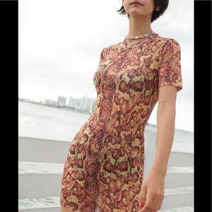 UO Animal Print dress
